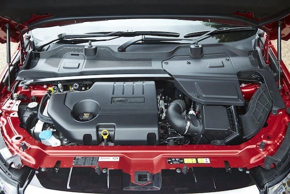 Engine shot of the Land Rover Discovery Sport