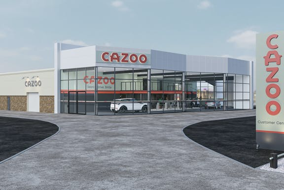 Cazoo Customer Collection Centre in Cardiff