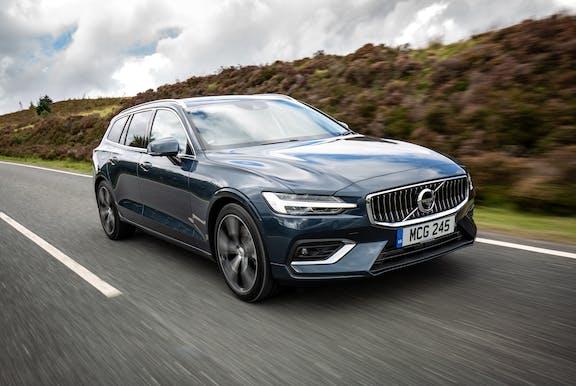Volvo V60 front exterior