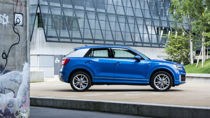 Side view of Audi Q2