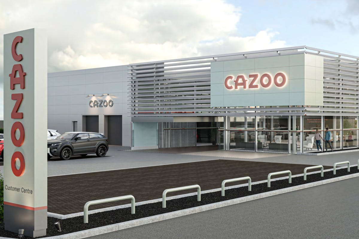 A Cazoo Customer Collection Centre in Manchester