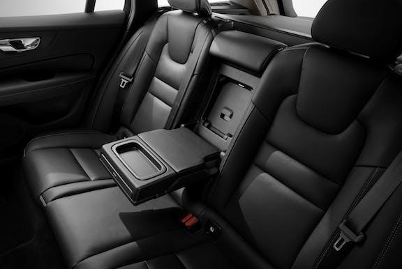 Volvo V60 back seats