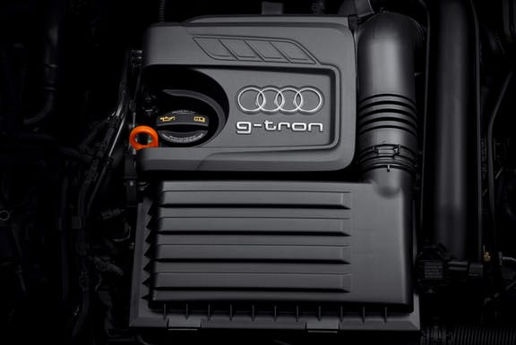 Engine shot of the Audi A3