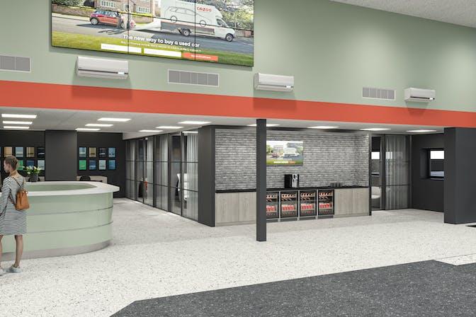 Cazoo Customer Centre in Wembley