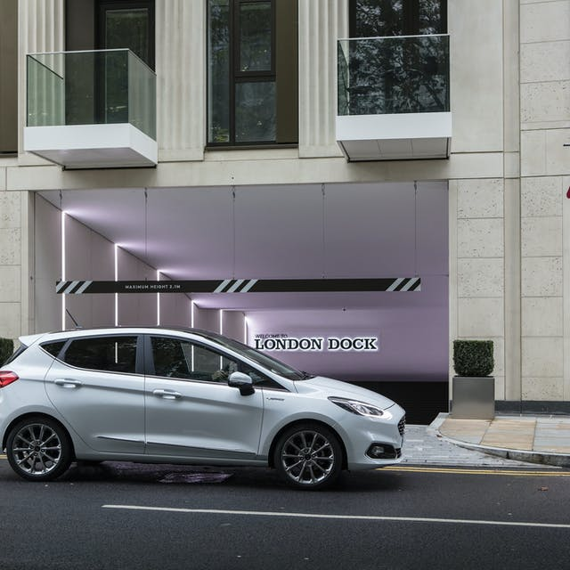 Ford Fiesta side view