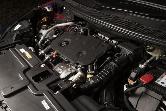 Engine shot of the Vauxhall Grandland X