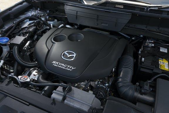 Engine shot of the Mazda CX-5