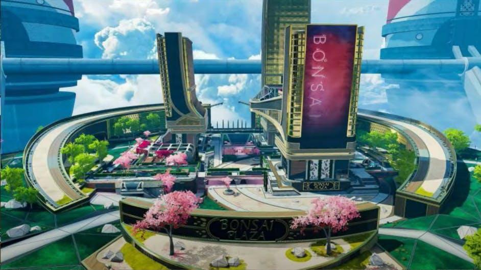 Map of Bonsai Plaza on Apex