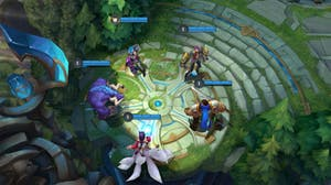 League of Legends Gameplay blue team
