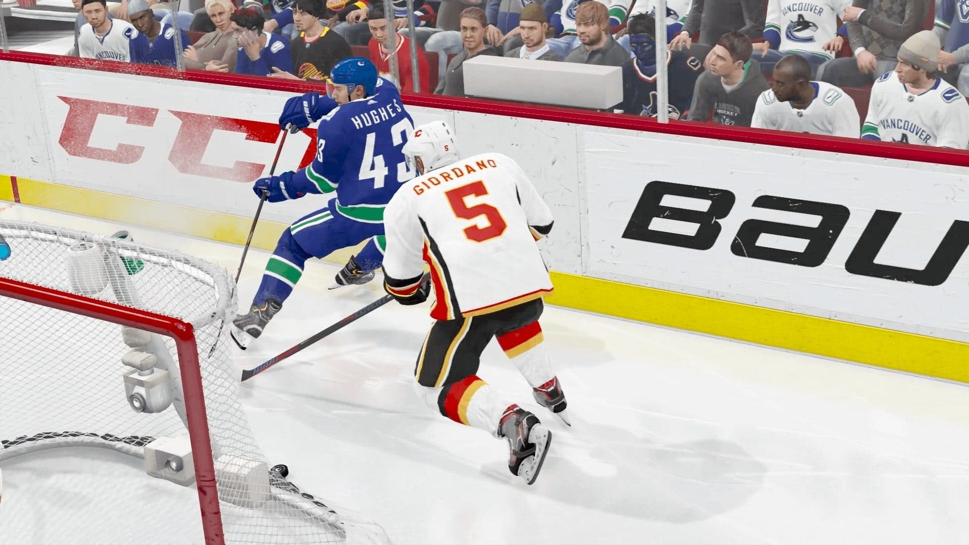 Screenshot from the game NHL 21