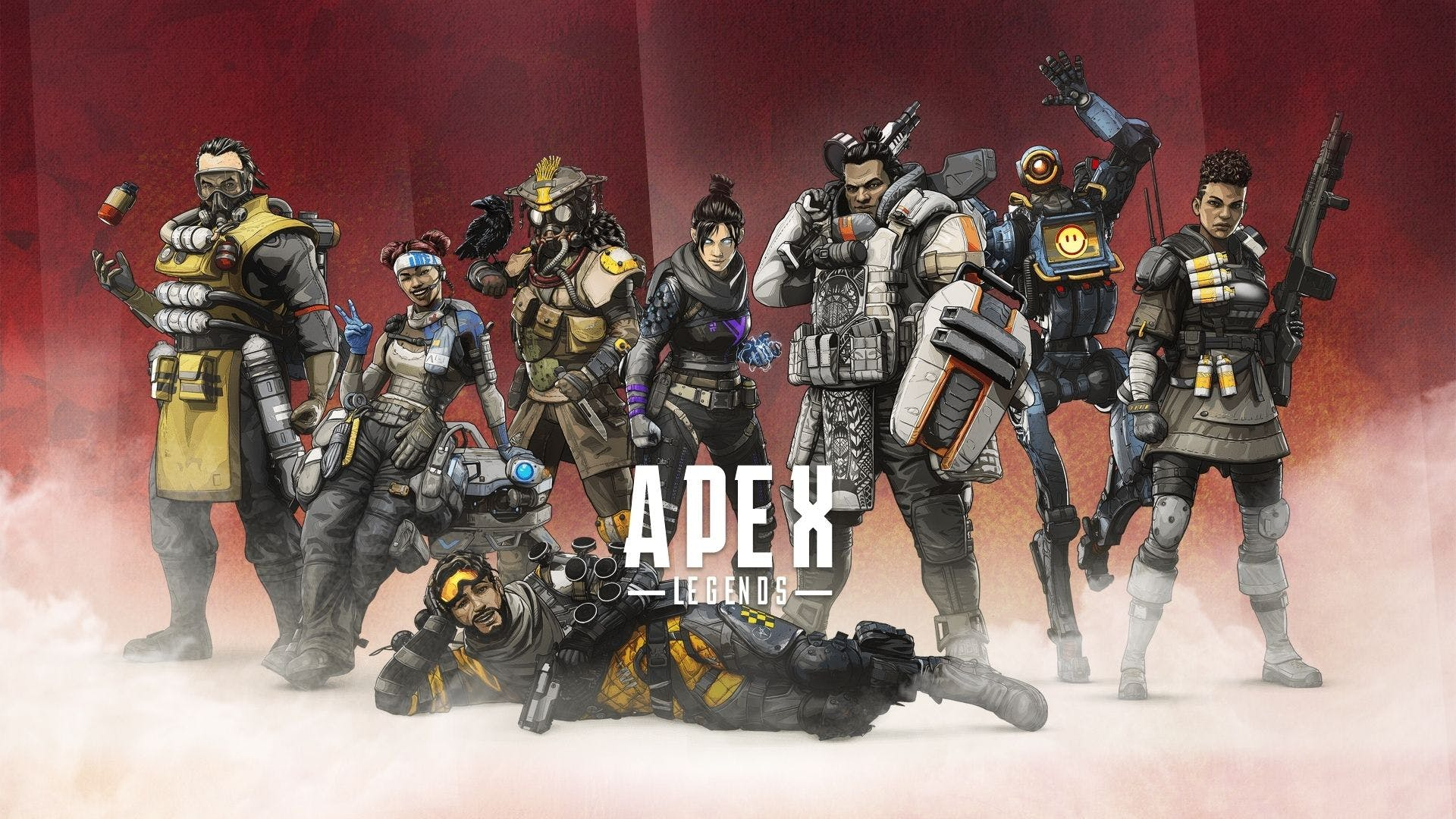 Image of characters from the game Apex Legends