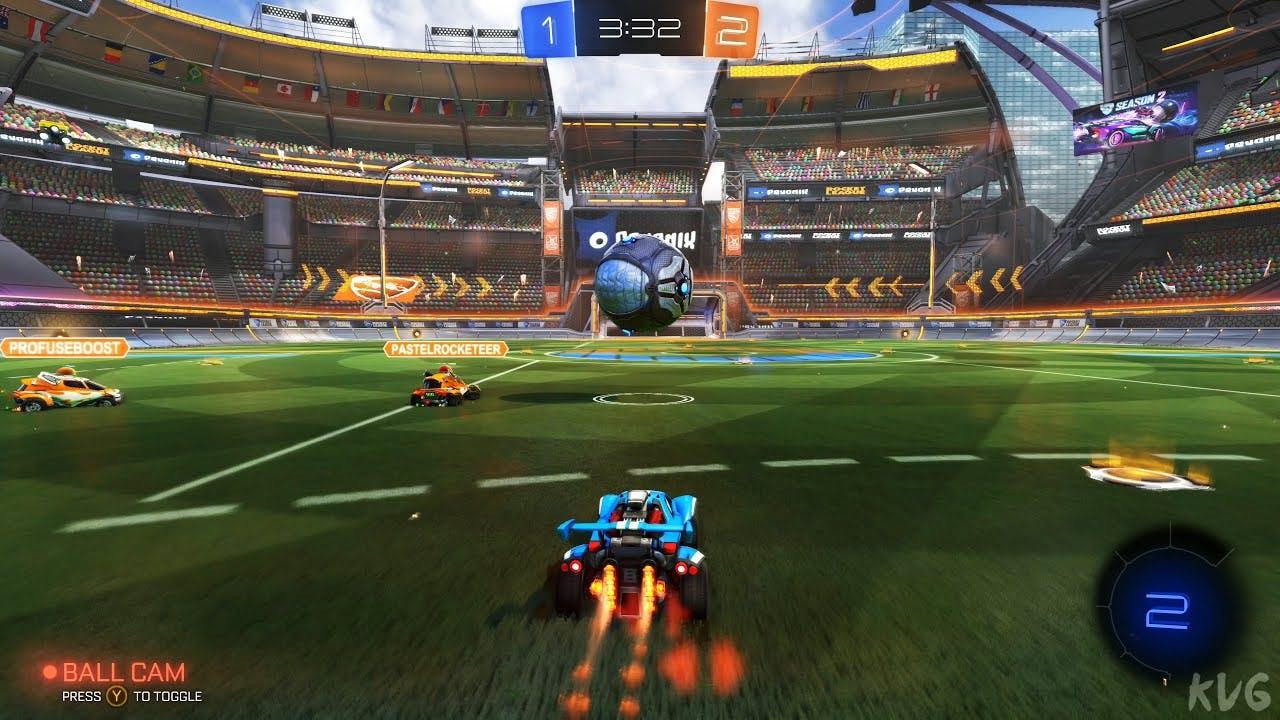 Rocket League gameplay image 1