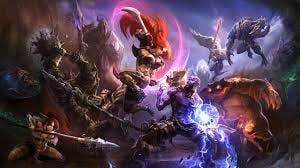 League of Legends Characters dark