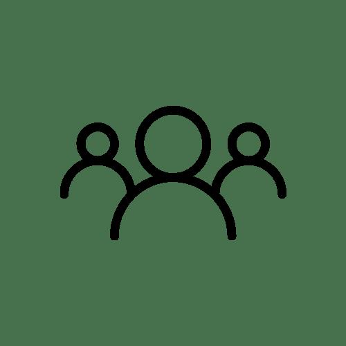 Three people icon