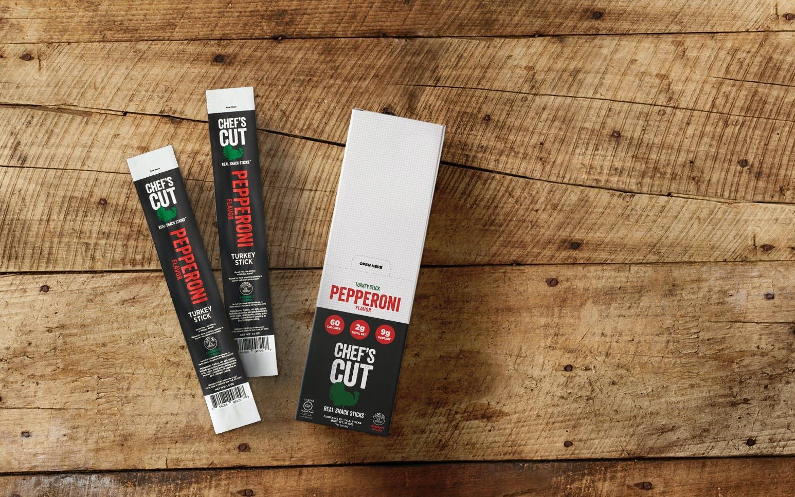 Chef's Cut Premium Turkey Pepperoni Sticks