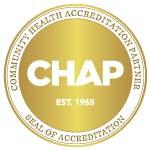 Community Health Accreditation Partner (CHAP) Logo