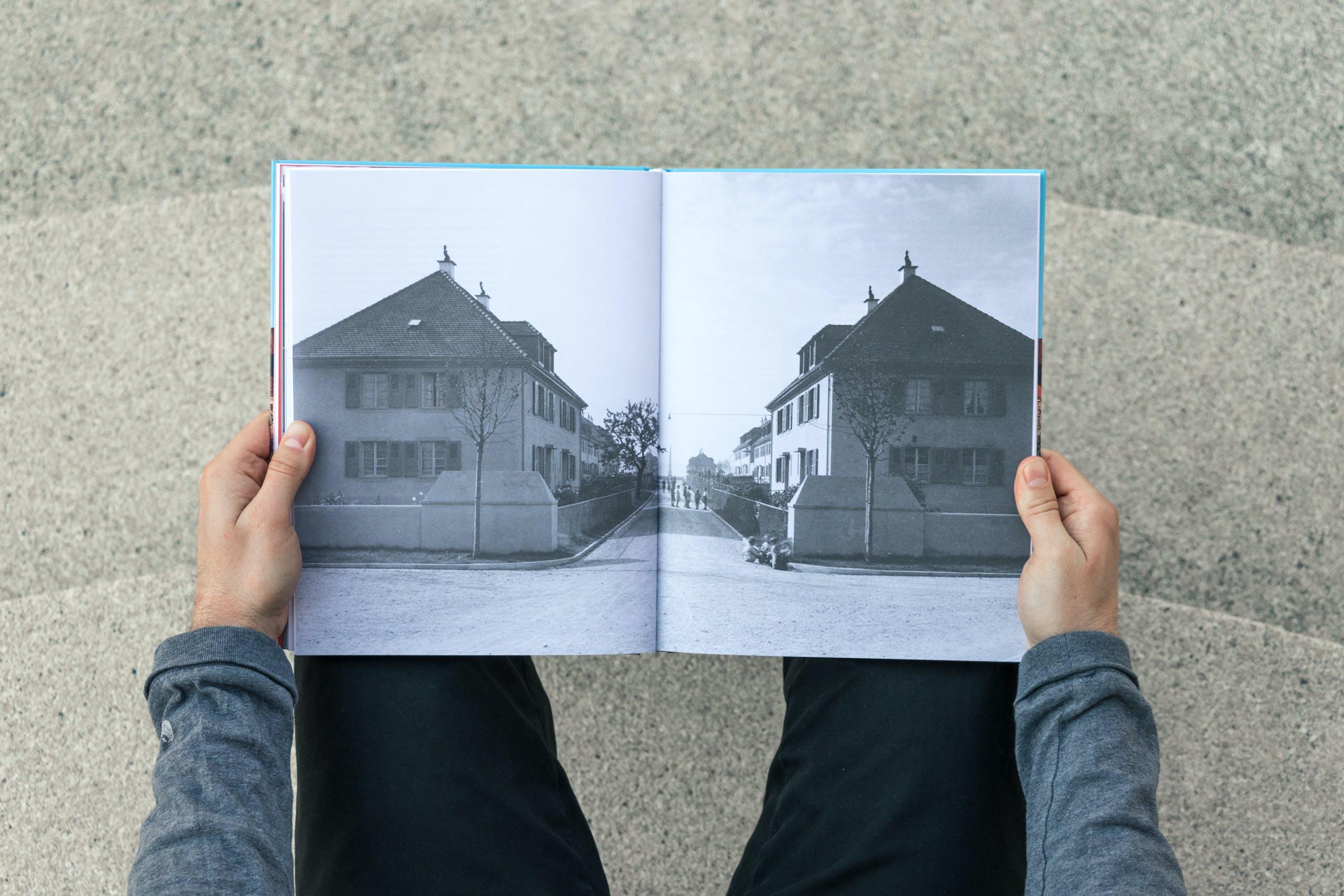 Freidorf Muttenz, Cedric Kegreiss, Grafik, Visuelle Gestaltung, Design, Book, Buch, Publikation, CMS, Basel