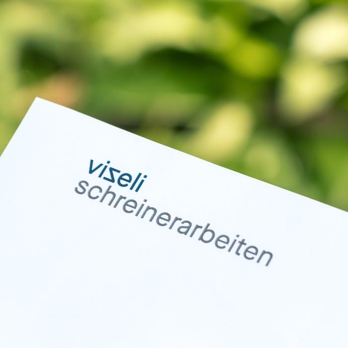 Cedric Kegreiss, Vizeli-Schreinerarbeiten, Basel, Basel-Landschaft, Grafik, Corporate Design, Design, Schreiner, Holz, Holzbau, Visuelle Gestaltung