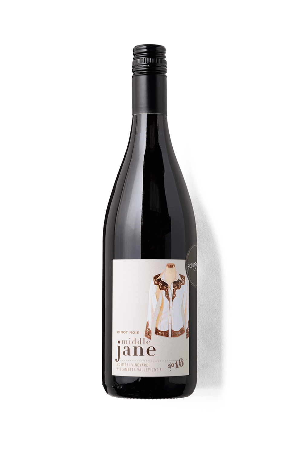 2016 Middle Jane Pinot Noir Lot 6 Willamette Valley, Oregon