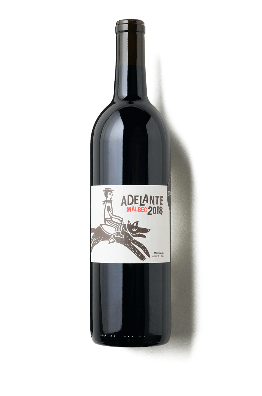 2018 Adelante Malbec Mendoza, Argentina