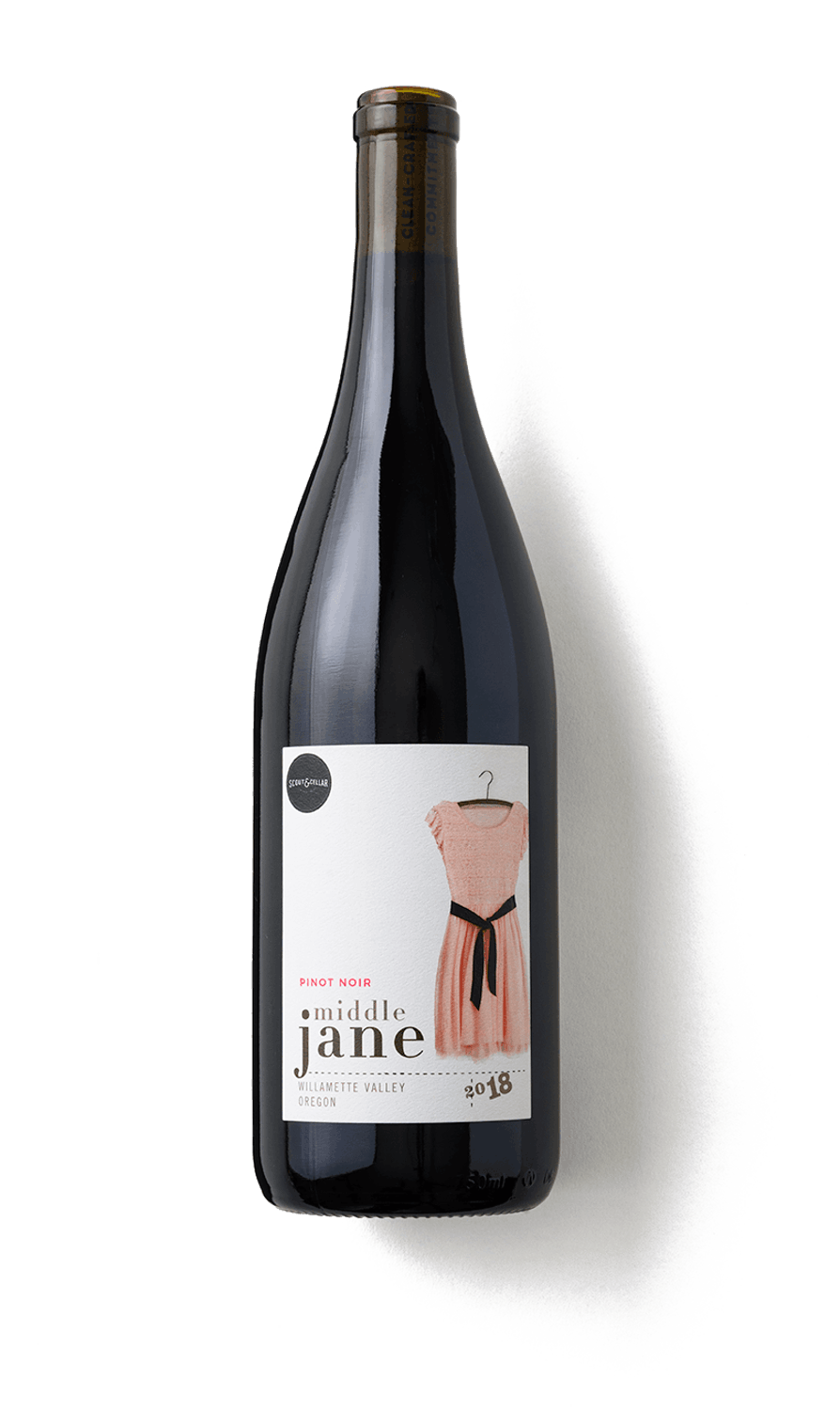 2018 MIDDLE JANE PINOT NOIR