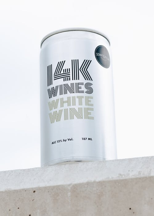 14K WHITE WINE