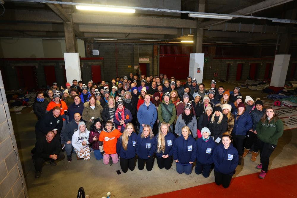 Raise funds and participate at Centrepoint Sleep Out event