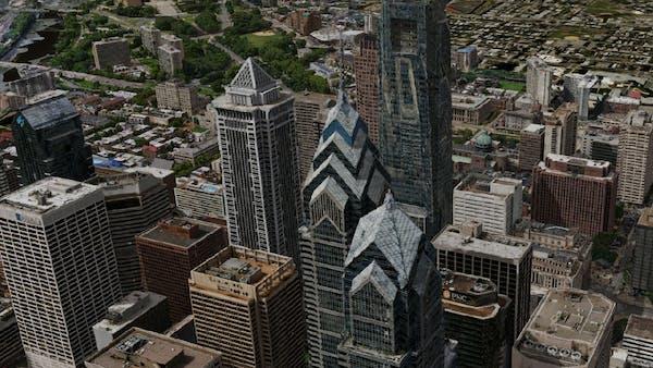 3D building data of center city Philadelphia, PA