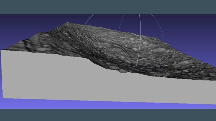 Vesta Surface 3D Printer (STL) File