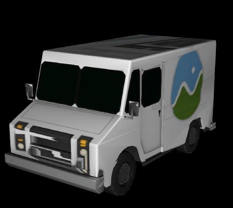 milk truck compressed and quantized