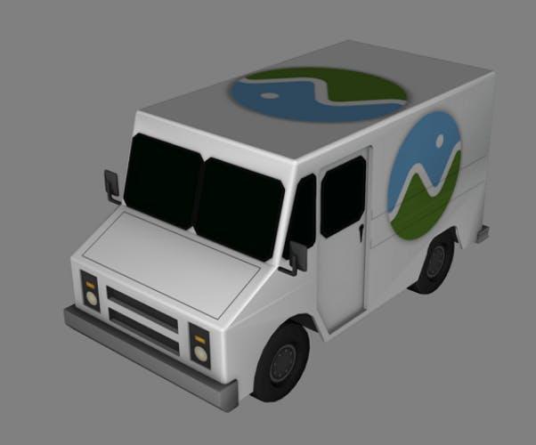 milk truck original