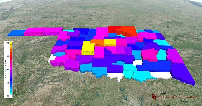 Oklahoma Tornado Totals