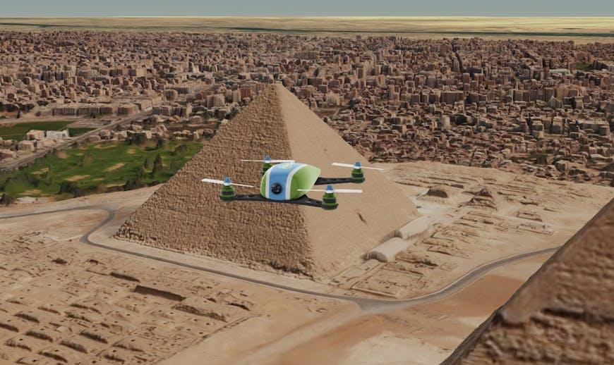 Cairo Drone