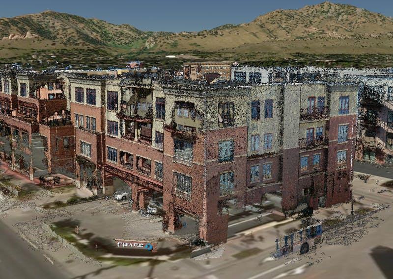 A bank in Boulder, Colorado.