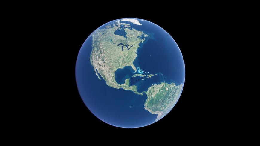 The globe in Cesium for Unreal