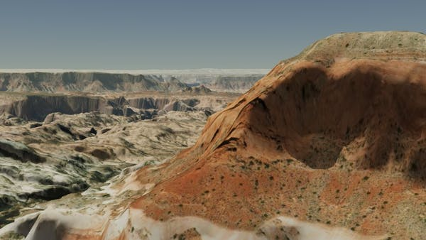 Glenn Canyon in Cesium World Terrain