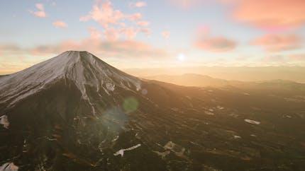 Mt Fuji in Cesium for Unreal