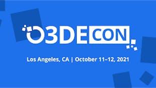 o3DEcon LA October 11-12, 2021
