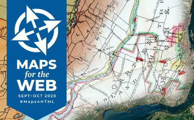 Maps for the Web Banner September - October 2020