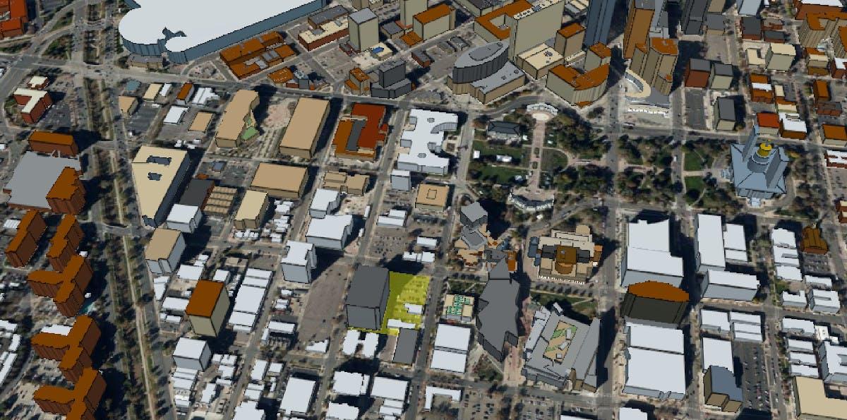 Building proposal building footprint