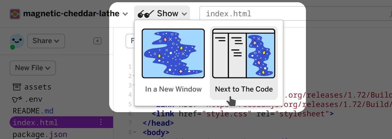 Building proposal show app