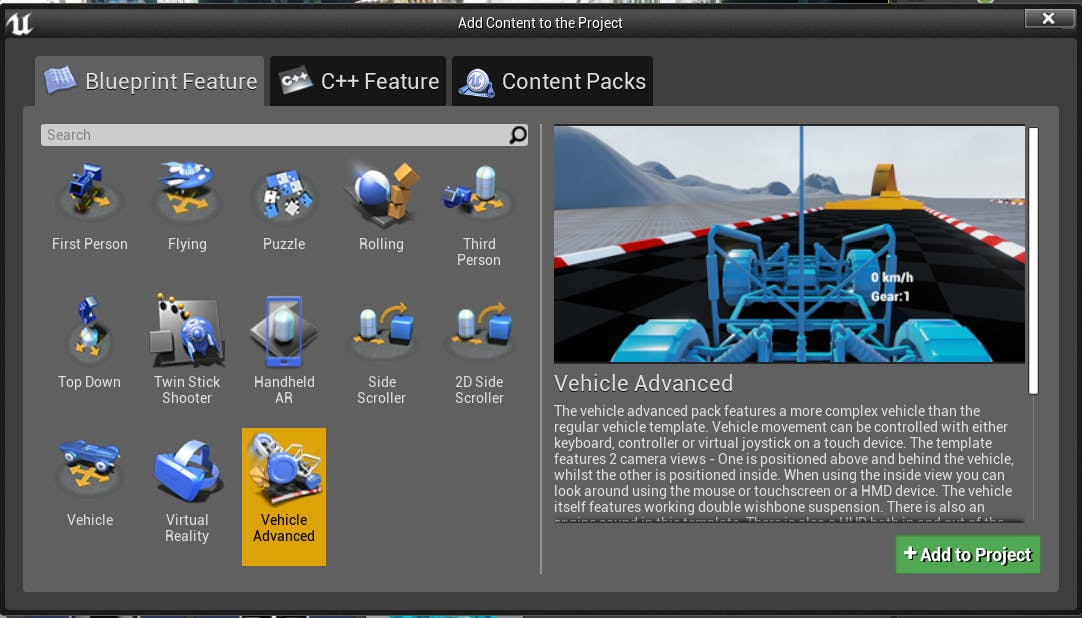 Cesium for Unreal controllers importCar