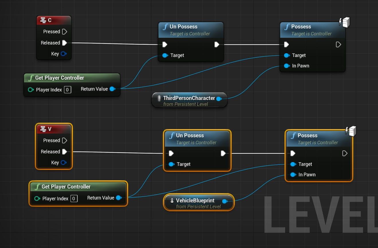 Cesium for Unreal controllers nodeSetupFull