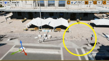 Cesium for Unreal controllers worldTerrainClipping