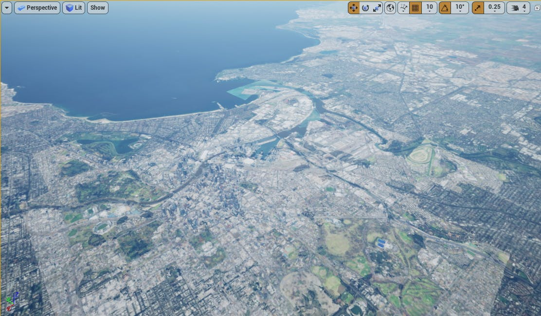 Cesium for Unreal photogrammetry with cwt