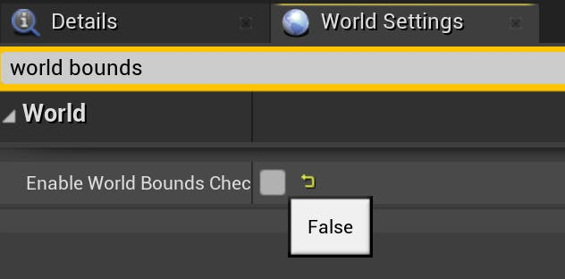 Cesium for Unreal sublevels world bounds