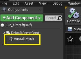 Cesium for Unreal Flight tracker addComponent