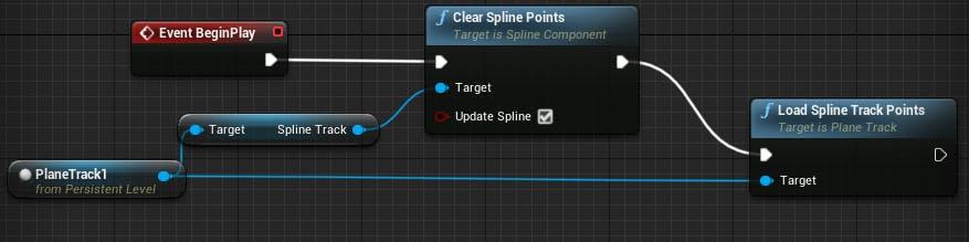 Cesium for Unreal Flight tracker beginPlayLevelBlueprint
