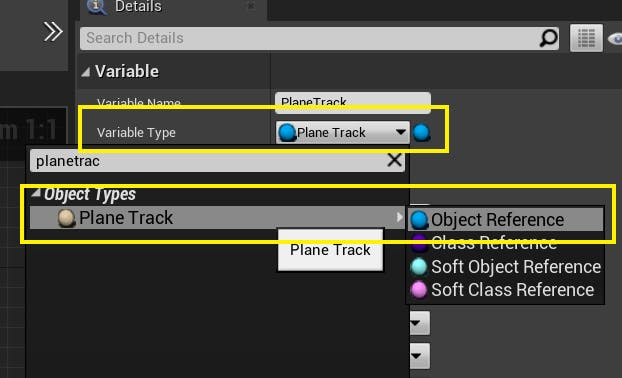 Cesium for Unreal Flight tracker planetrack object reference