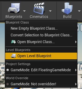 Cesium for Unreal fly to level blueprint